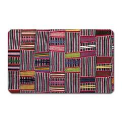 Strip Woven Cloth Color Magnet (rectangular) by Jojostore