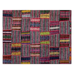 Strip Woven Cloth Color Rectangular Jigsaw Puzzl by Jojostore