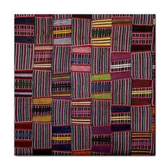 Strip Woven Cloth Color Face Towel by Jojostore