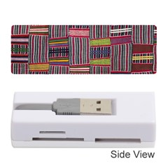 Strip Woven Cloth Color Memory Card Reader (stick)  by Jojostore