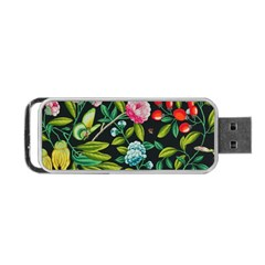 Tropical And Tropical Leaves Bird Portable Usb Flash (one Side) by Jojostore