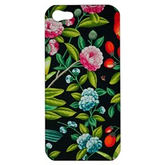 Tropical And Tropical Leaves Bird Apple Iphone 5 Hardshell Case by Jojostore