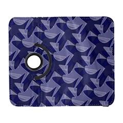 Incid Mono Geometric Shapes Project Blue Galaxy S3 (flip/folio) by Jojostore