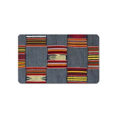 Strip Woven Cloth Magnet (name Card) by Jojostore