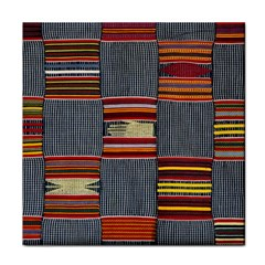 Strip Woven Cloth Face Towel by Jojostore