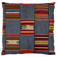 Strip Woven Cloth Large Cushion Case (two Sides) by Jojostore