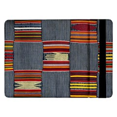 Strip Woven Cloth Samsung Galaxy Tab Pro 12 2  Flip Case by Jojostore