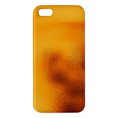 Blurred Glass Effect Iphone 5s/ Se Premium Hardshell Case by Amaryn4rt