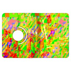 Cheerful Phantasmagoric Pattern Kindle Fire Hdx Flip 360 Case by Amaryn4rt