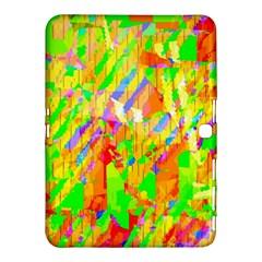 Cheerful Phantasmagoric Pattern Samsung Galaxy Tab 4 (10 1 ) Hardshell Case  by Amaryn4rt