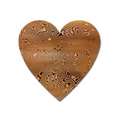 Circuit Board Heart Magnet by Amaryn4rt