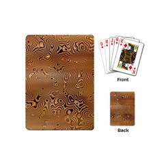 Circuit Board Playing Cards (mini)  by Amaryn4rt