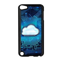 Circuit Computer Chip Cloud Security Apple Ipod Touch 5 Case (black) by Amaryn4rt
