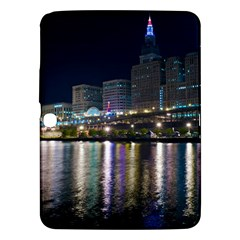 Cleveland Building City By Night Samsung Galaxy Tab 3 (10 1 ) P5200 Hardshell Case
