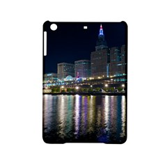 Cleveland Building City By Night Ipad Mini 2 Hardshell Cases by Amaryn4rt