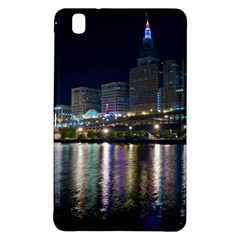 Cleveland Building City By Night Samsung Galaxy Tab Pro 8 4 Hardshell Case by Amaryn4rt