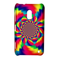 Colorful Psychedelic Art Background Nokia Lumia 620 by Amaryn4rt