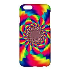 Colorful Psychedelic Art Background Apple Iphone 6 Plus/6s Plus Hardshell Case by Amaryn4rt
