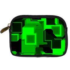 Cyber Glow Digital Camera Cases by Amaryn4rt