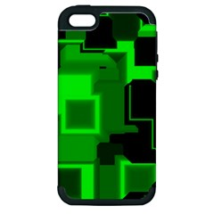 Cyber Glow Apple Iphone 5 Hardshell Case (pc+silicone)