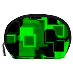 Cyber Glow Accessory Pouches (large)  by Amaryn4rt