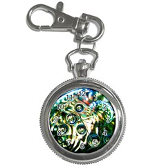 Dark Abstract Bubbles Key Chain Watches by Amaryn4rt