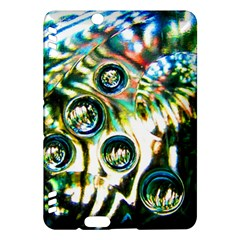 Dark Abstract Bubbles Kindle Fire Hdx Hardshell Case by Amaryn4rt