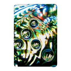 Dark Abstract Bubbles Samsung Galaxy Tab Pro 12.2 Hardshell Case by Amaryn4rt