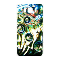 Dark Abstract Bubbles Samsung Galaxy Alpha Hardshell Back Case by Amaryn4rt