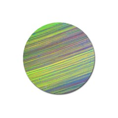 Diagonal Lines Abstract Magnet 3  (round) by Amaryn4rt