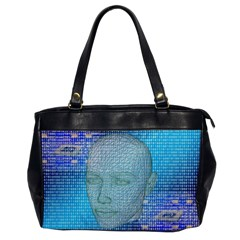 Digital Pattern Office Handbags by Amaryn4rt