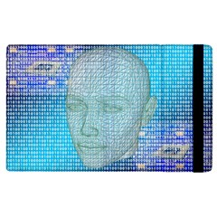 Digital Pattern Apple Ipad 2 Flip Case by Amaryn4rt