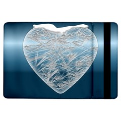 Frozen Heart Ipad Air Flip by Amaryn4rt