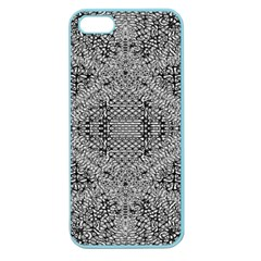 Gray Psychedelic Background Apple Seamless Iphone 5 Case (color) by Amaryn4rt