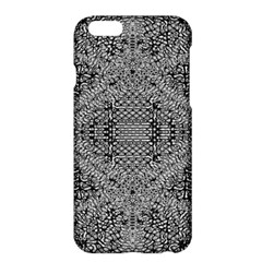 Gray Psychedelic Background Apple Iphone 6 Plus/6s Plus Hardshell Case by Amaryn4rt