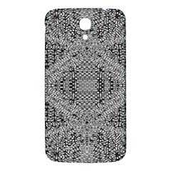 Gray Psychedelic Background Samsung Galaxy Mega I9200 Hardshell Back Case by Amaryn4rt