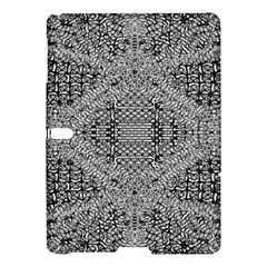 Gray Psychedelic Background Samsung Galaxy Tab S (10.5 ) Hardshell Case  by Amaryn4rt