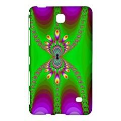 Green And Purple Fractal Samsung Galaxy Tab 4 (7 ) Hardshell Case  by Amaryn4rt