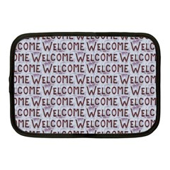 Welcome Letters Pattern Netbook Case (medium)  by dflcprints