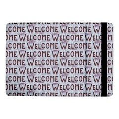 Welcome Letters Pattern Samsung Galaxy Tab Pro 10 1  Flip Case by dflcprints