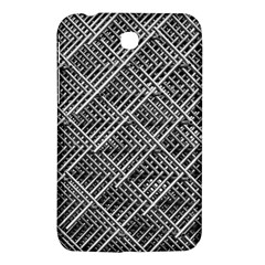 Grid Wire Mesh Stainless Rods Rods Raster Samsung Galaxy Tab 3 (7 ) P3200 Hardshell Case  by Amaryn4rt