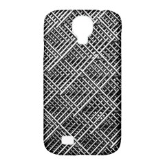 Grid Wire Mesh Stainless Rods Rods Raster Samsung Galaxy S4 Classic Hardshell Case (pc+silicone) by Amaryn4rt