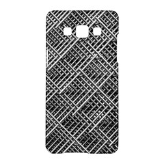 Grid Wire Mesh Stainless Rods Rods Raster Samsung Galaxy A5 Hardshell Case  by Amaryn4rt