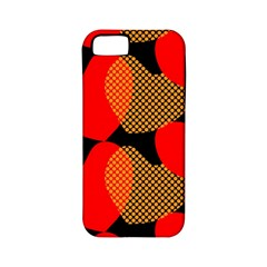 Heart Pattern Apple Iphone 5 Classic Hardshell Case (pc+silicone) by Amaryn4rt