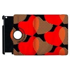 Heart Pattern Apple Ipad 3/4 Flip 360 Case by Amaryn4rt