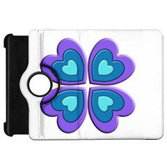 Light Blue Heart Images Kindle Fire Hd 7  by Amaryn4rt
