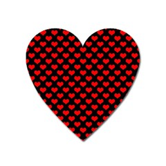 Love Pattern Hearts Background Heart Magnet