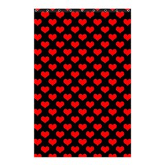 Love Pattern Hearts Background Shower Curtain 48  X 72  (small)  by Amaryn4rt