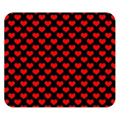 Love Pattern Hearts Background Double Sided Flano Blanket (small)  by Amaryn4rt