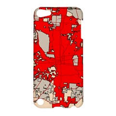 Map Of Franklin County Ohio Highlighting Columbus Apple Ipod Touch 5 Hardshell Case by Amaryn4rt